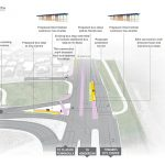 Rendering of proposed bus infrastructure at Te Atatū Peninsula